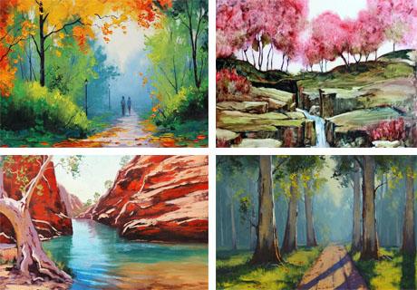 نقاشی های جدید و فوق العاده زیبا