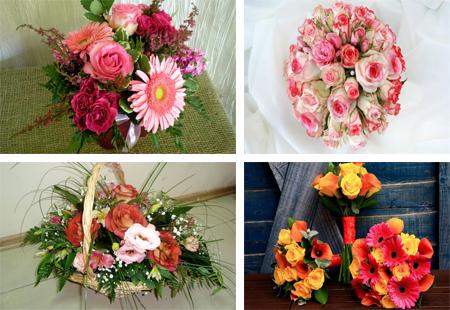 عکس های بسیار زیبا از دسته گل ها